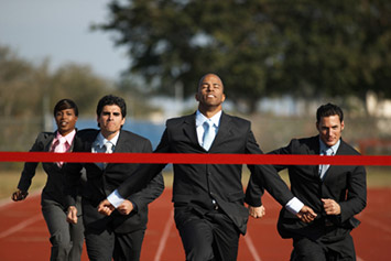 Business Executives Race